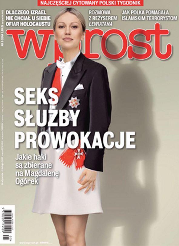 Okładka tygodnika Wprost